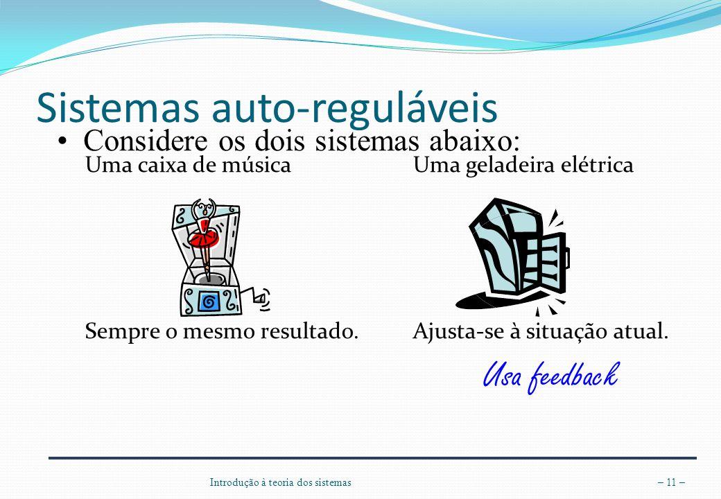 Sistemas auto-reguláveis
