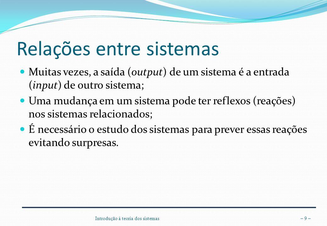 Relações entre sistemas