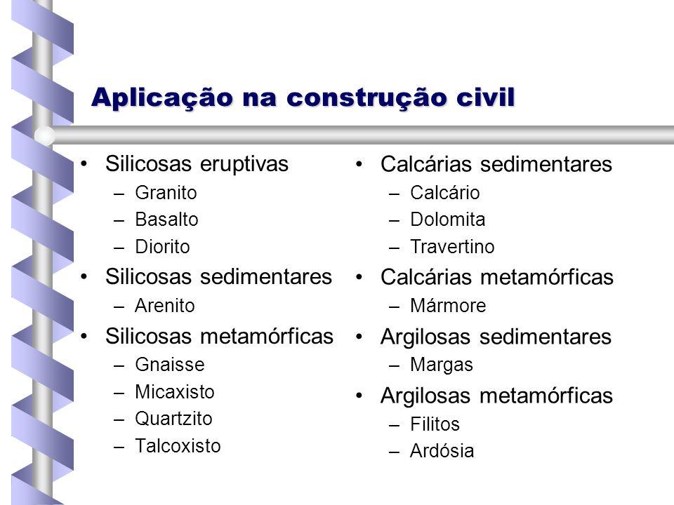 Aplicação na construção civil