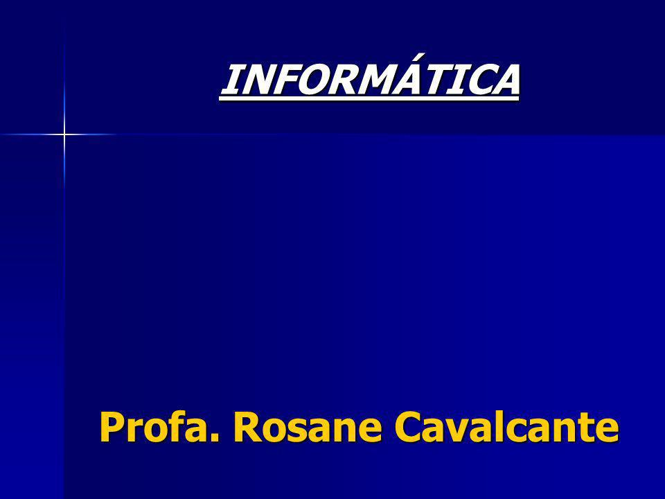 Profa. Rosane Cavalcante