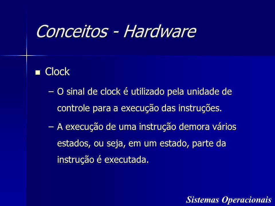 Conceitos - Hardware Clock