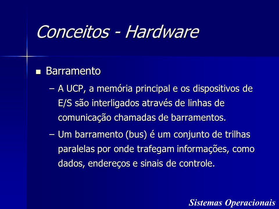 Conceitos - Hardware Barramento