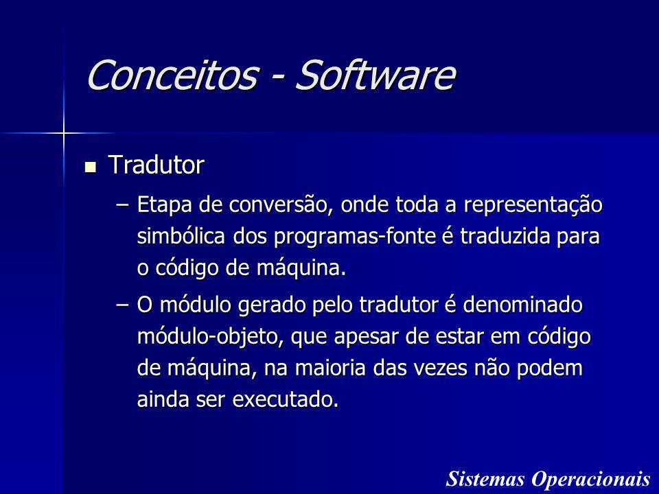 Conceitos - Software Tradutor