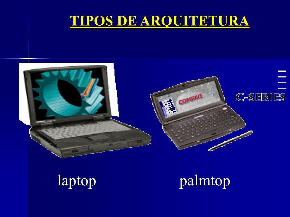 TIPOS DE ARQUITETURA laptop palmtop