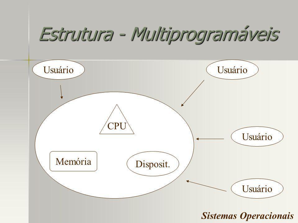 Estrutura - Multiprogramáveis