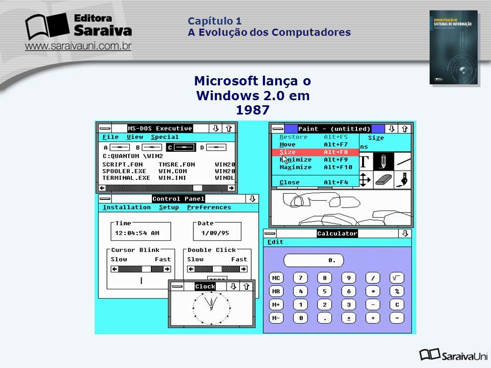 Microsoft lança o Windows 2.0 em 1987