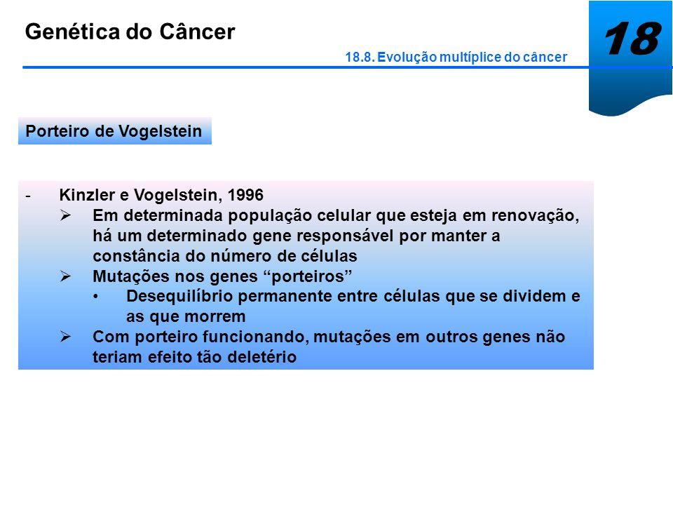 18 Genética do Câncer Porteiro de Vogelstein