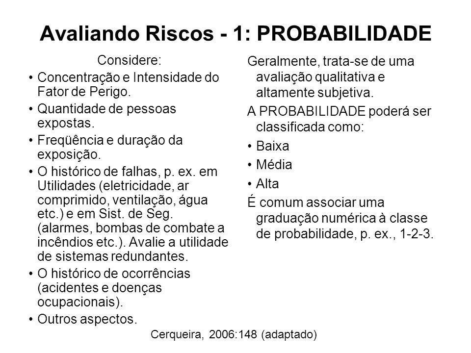 Avaliando Riscos - 1: PROBABILIDADE