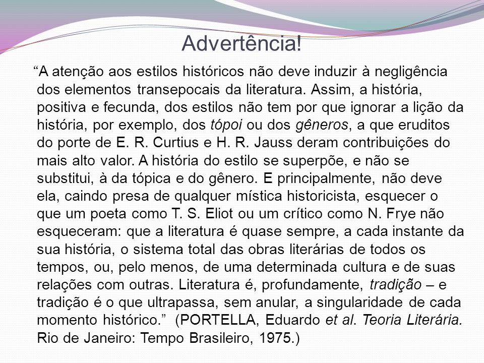 Advertência!
