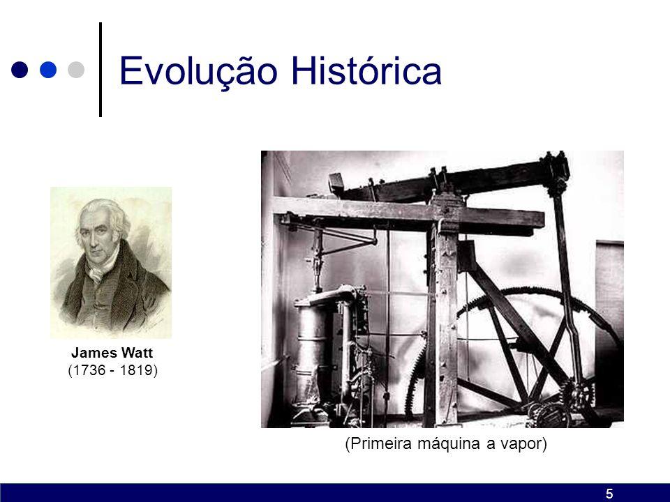 (Primeira máquina a vapor)