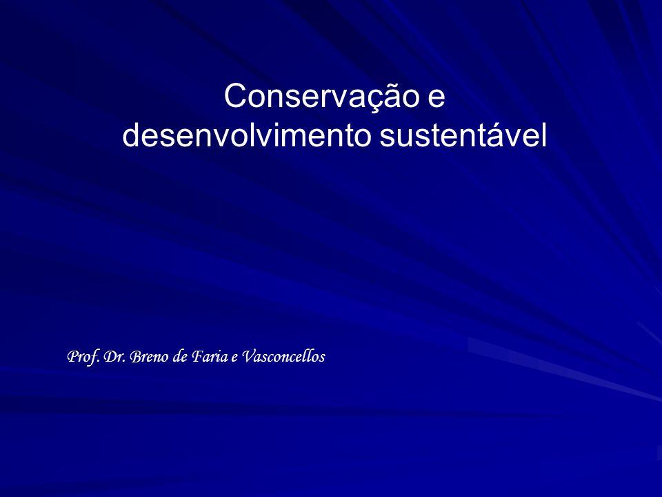 Conservação e desenvolvimento sustentável