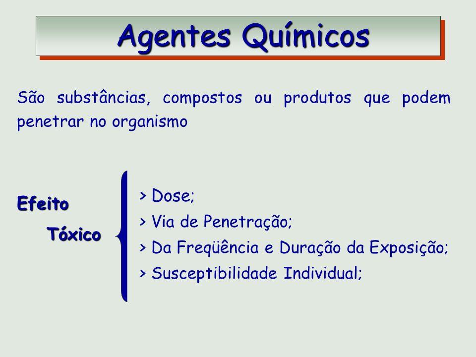 Agentes Químicos Dose; Efeito Tóxico
