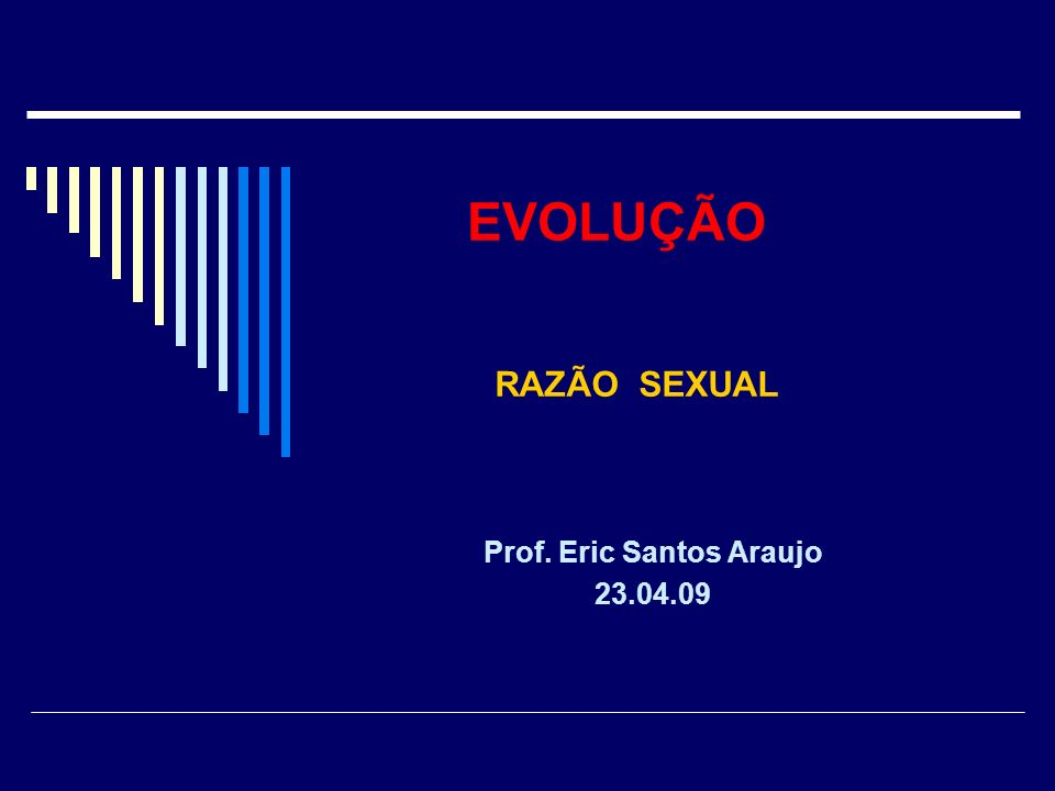 Prof. Eric Santos Araujo 23.04.09