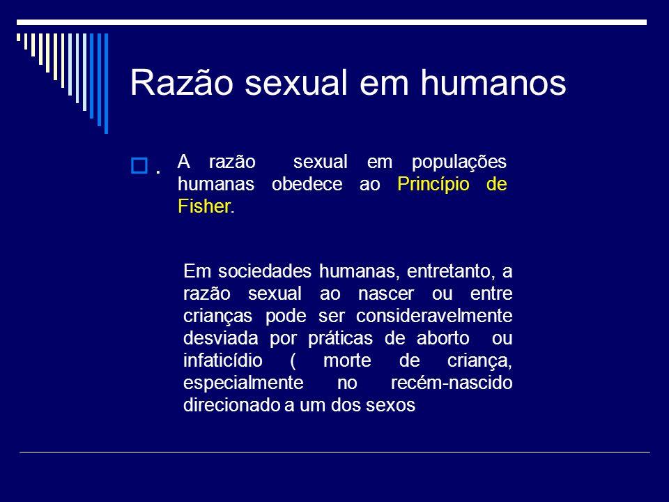 Razão sexual em humanos