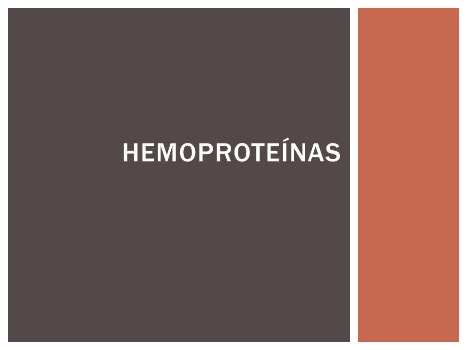HEMOPROTEÍNAS