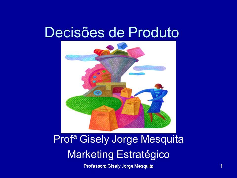 Profª Gisely Jorge Mesquita Marketing Estratégico