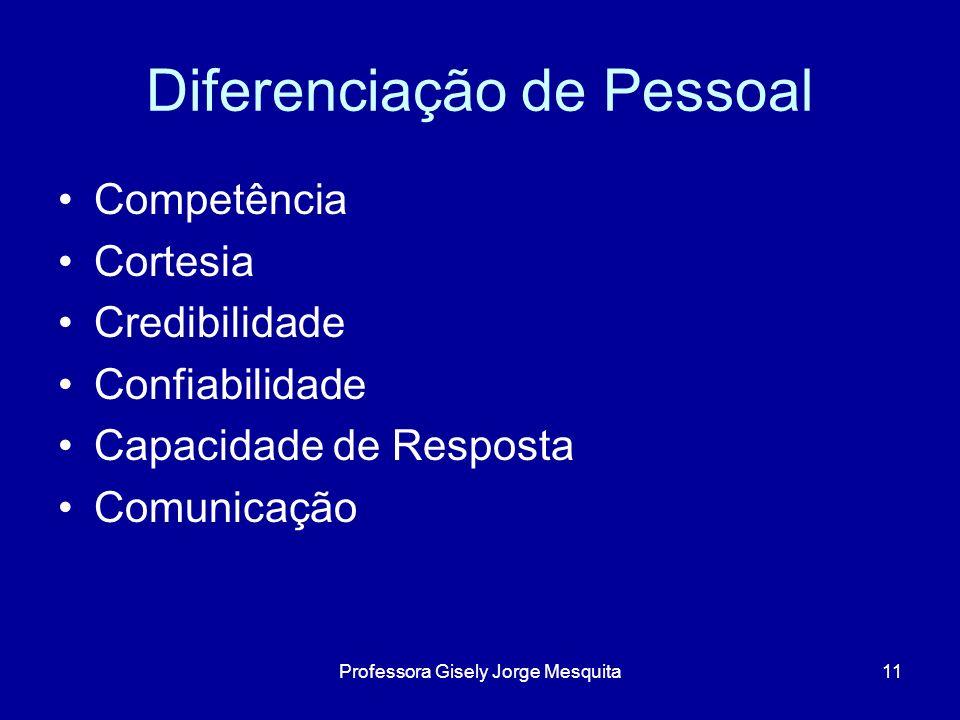 Diferenciação de Pessoal