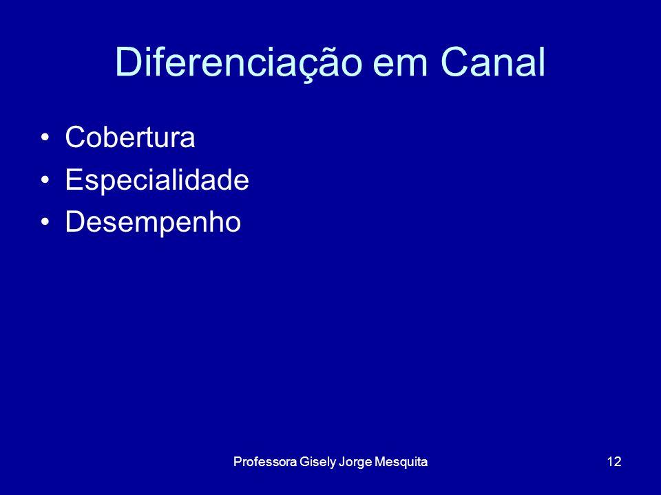 Diferenciação em Canal