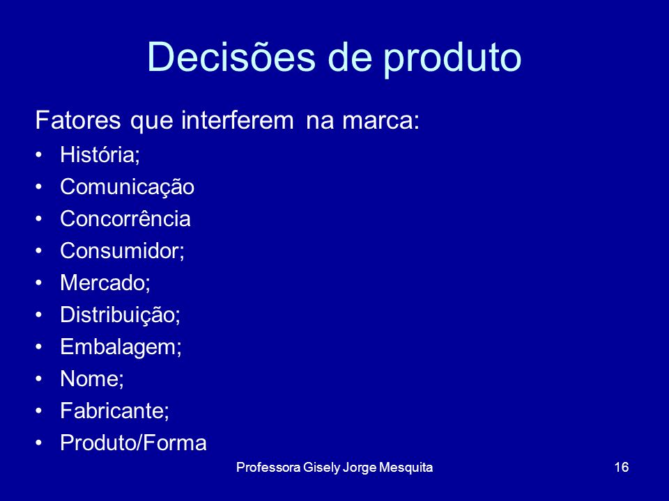 Professora Gisely Jorge Mesquita