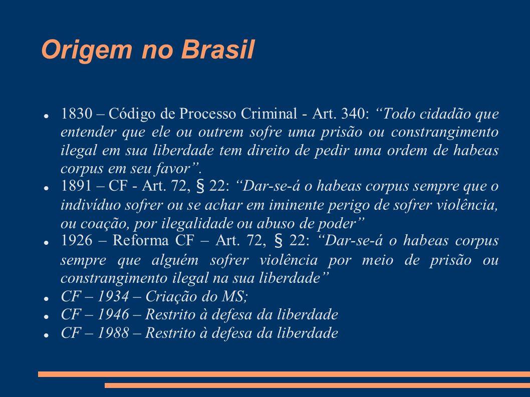 Origem no Brasil
