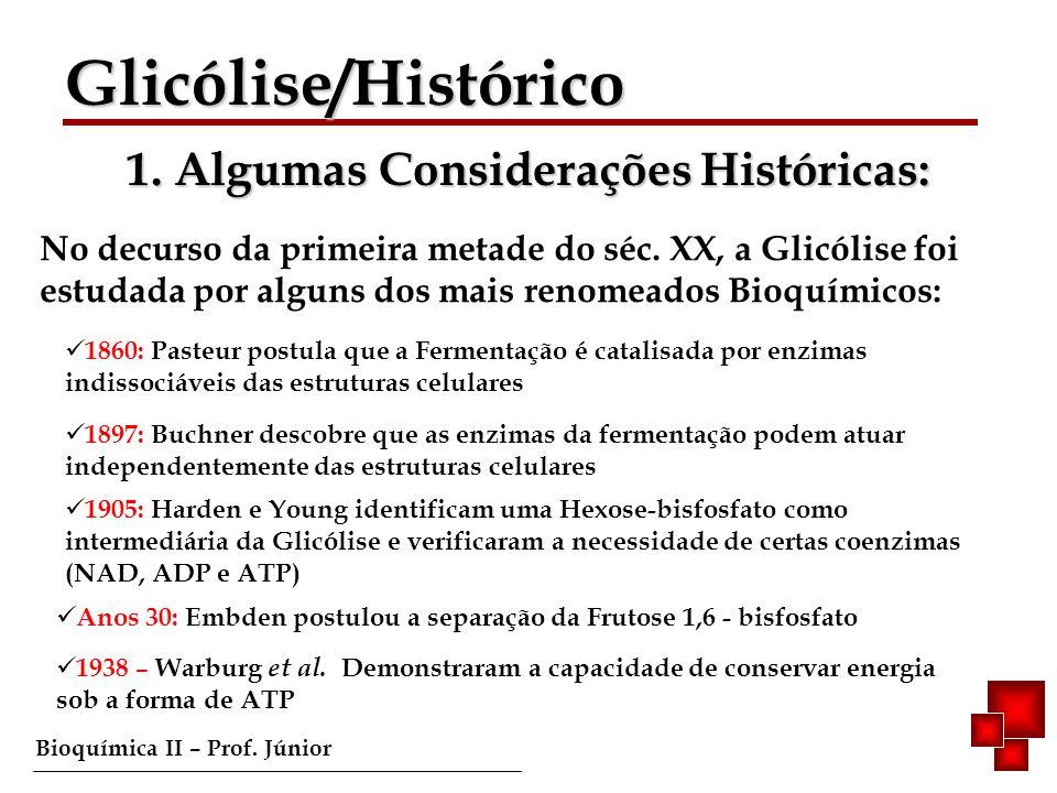 1. Algumas Considerações Históricas: