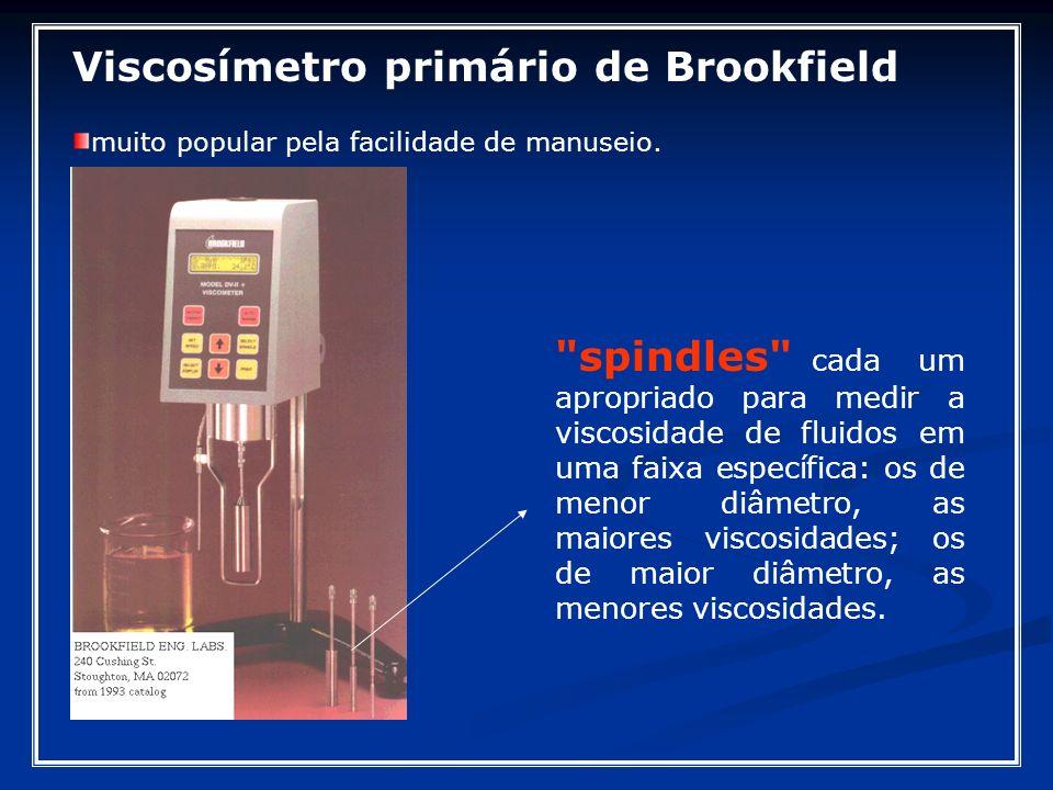 Viscosímetro primário de Brookfield