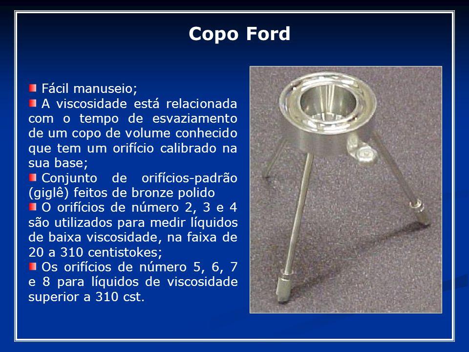 Copo Ford Fácil manuseio;