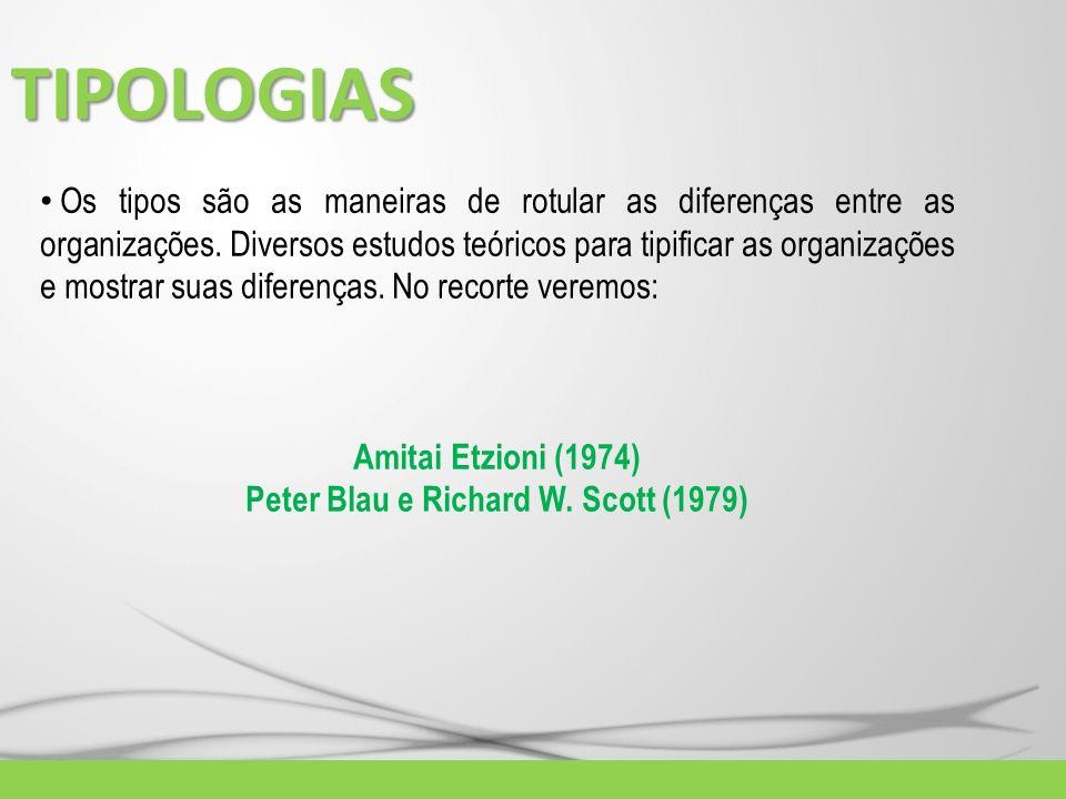 Peter Blau e Richard W. Scott (1979)