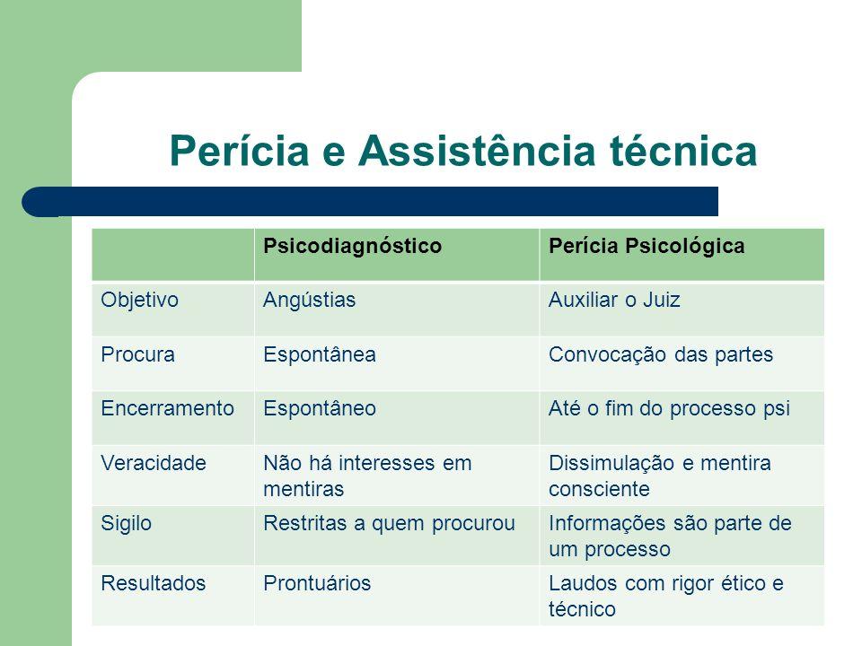 Perícia e Assistência técnica