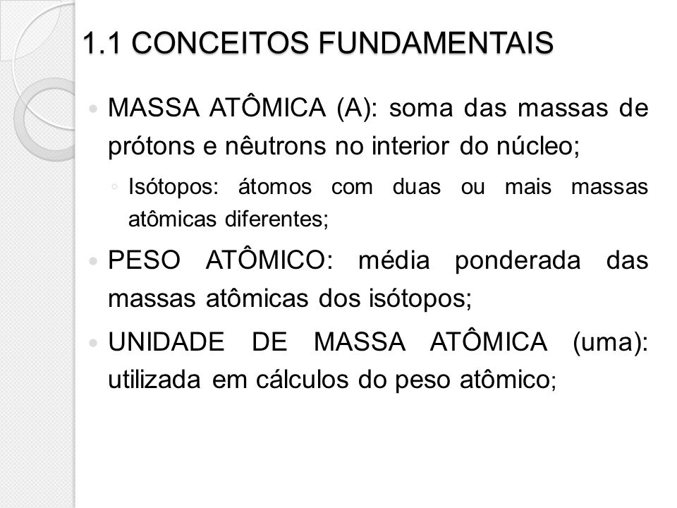 1.1 CONCEITOS FUNDAMENTAIS