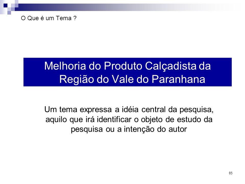 Melhoria do Produto Calçadista da Região do Vale do Paranhana
