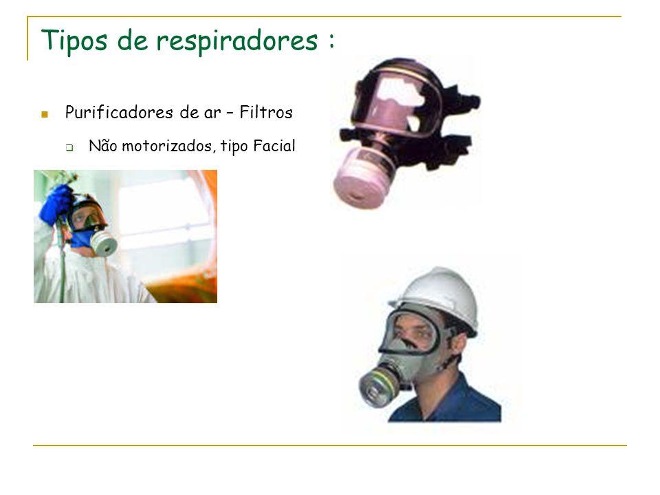 Tipos de respiradores :