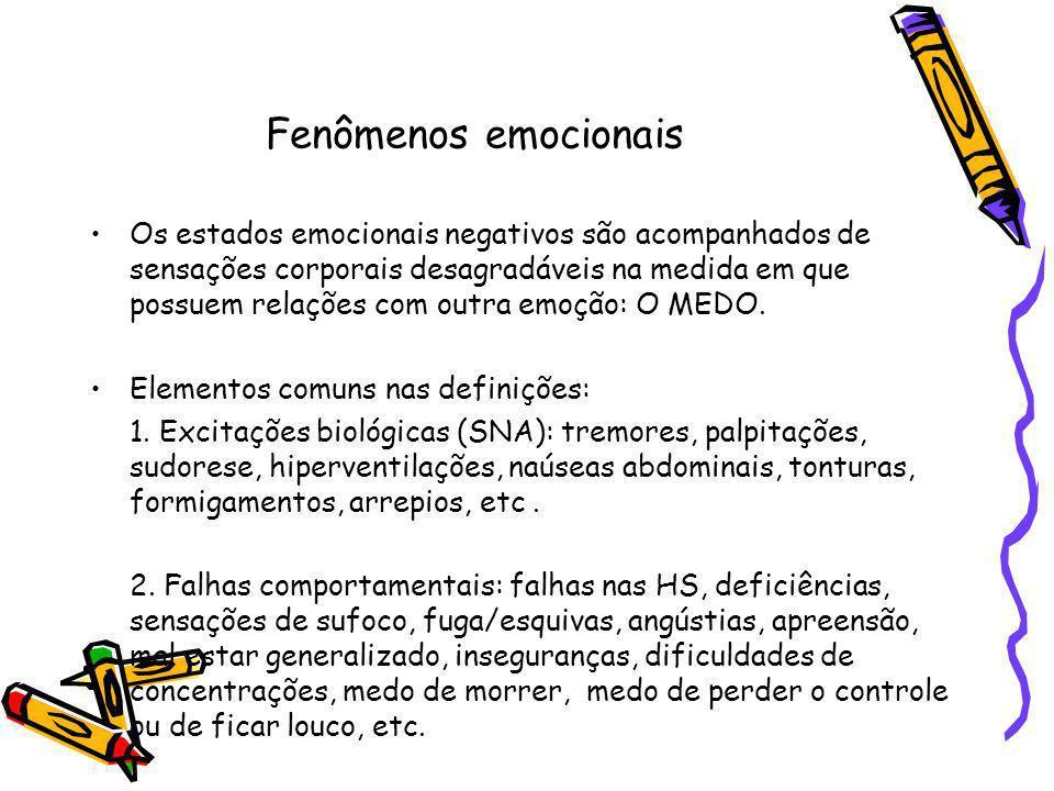 Fenômenos emocionais