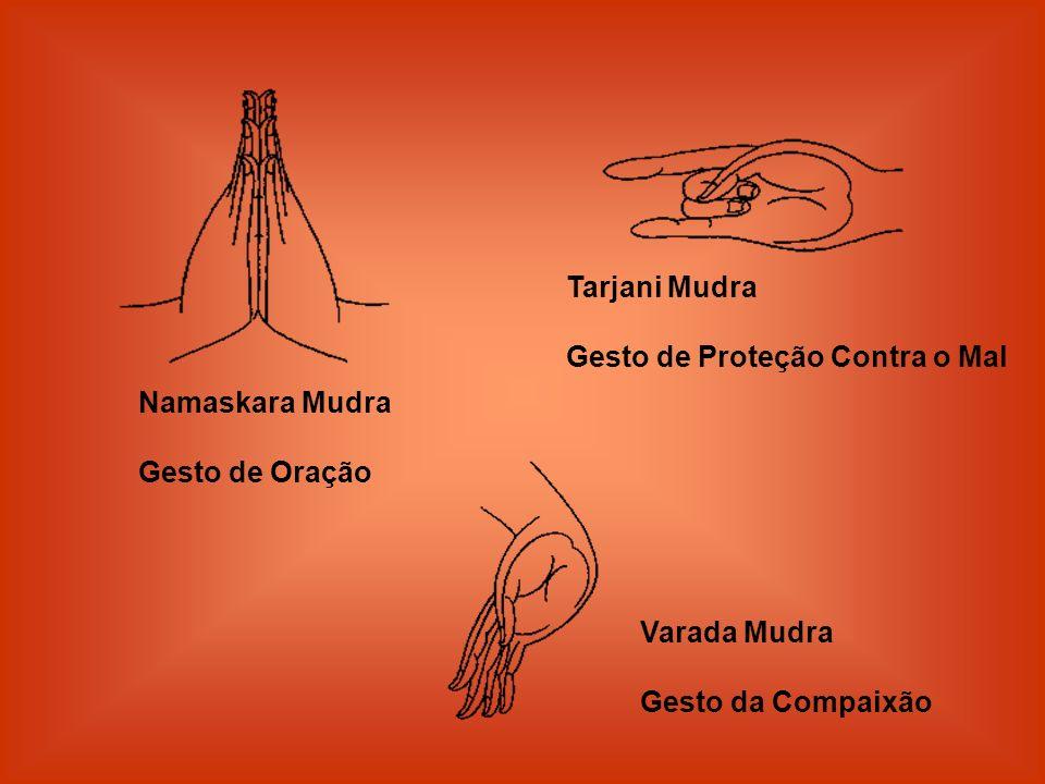 Tarjani Mudra Gesto de Proteção Contra o Mal