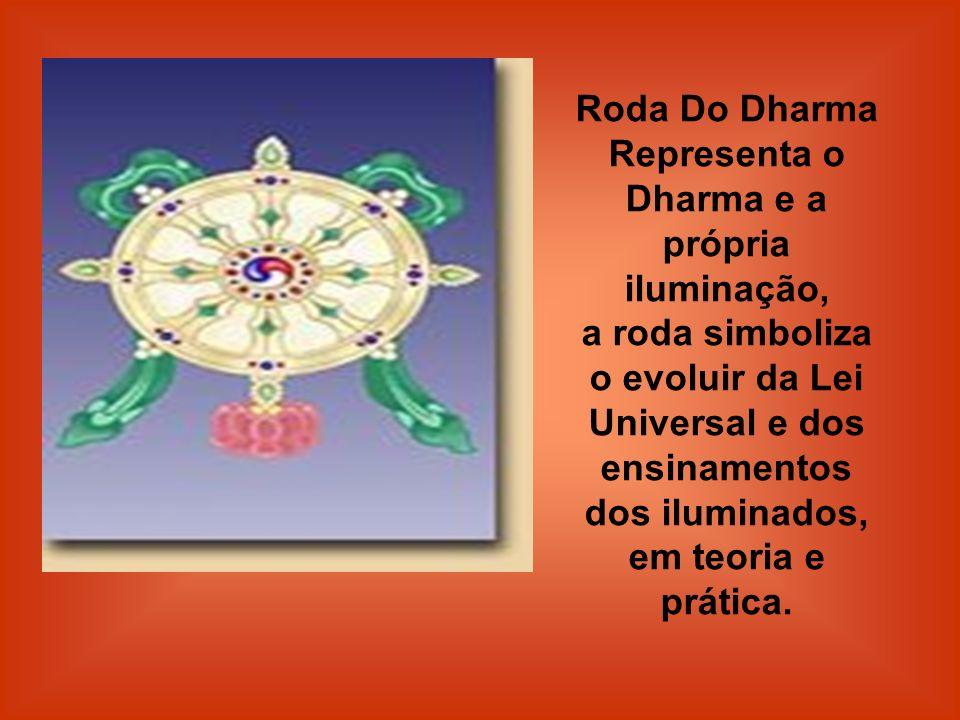 Representa o Dharma e a própria iluminação,