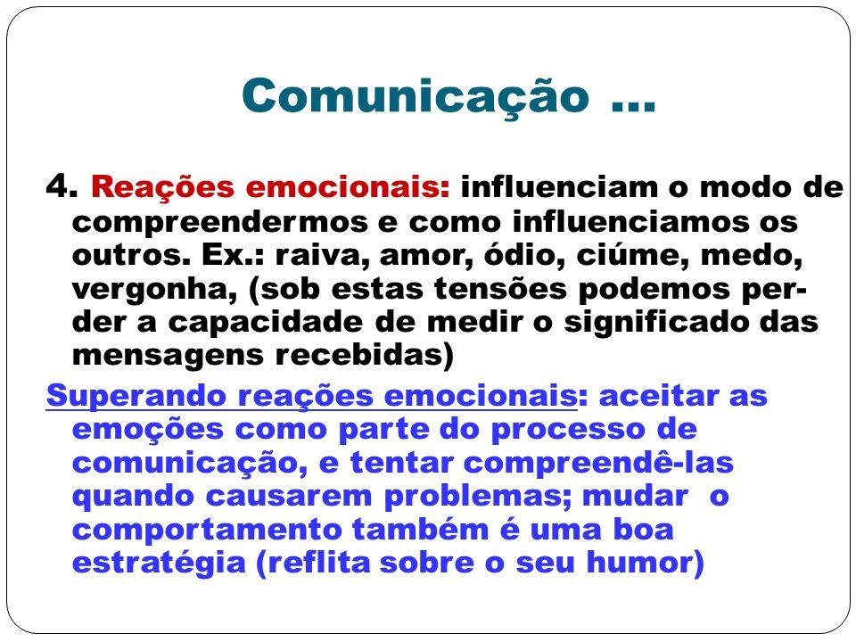 Comunicação ...