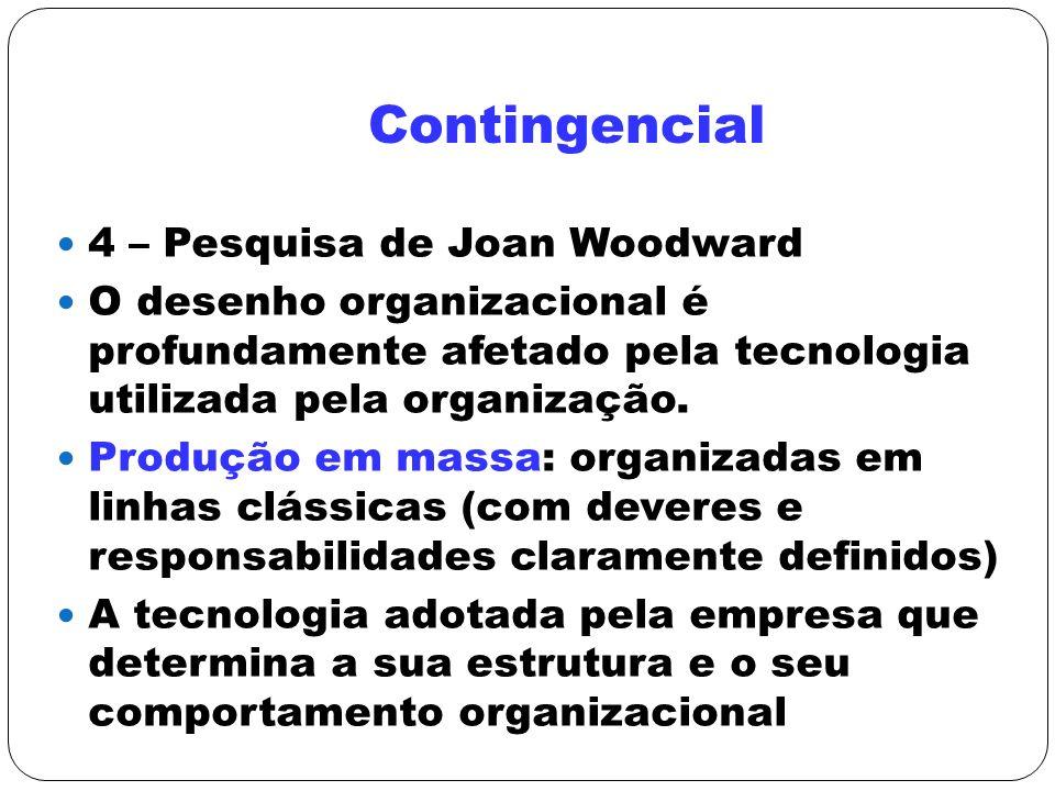 Contingencial 4 – Pesquisa de Joan Woodward
