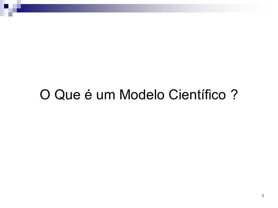 O Que é um Modelo Científico