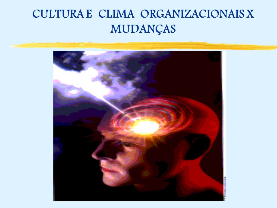 CULTURA E CLIMA ORGANIZACIONAIS X MUDANÇAS