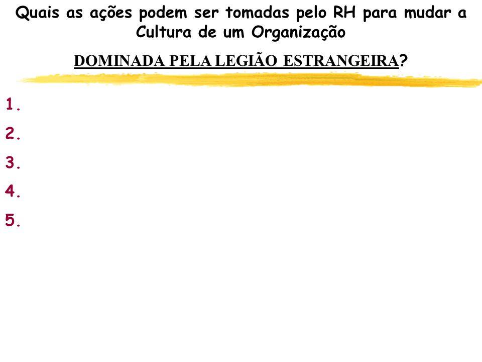 DOMINADA PELA LEGIÃO ESTRANGEIRA