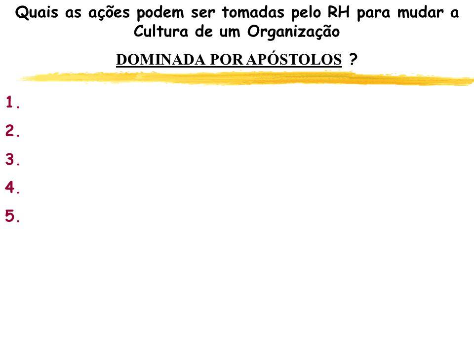 DOMINADA POR APÓSTOLOS