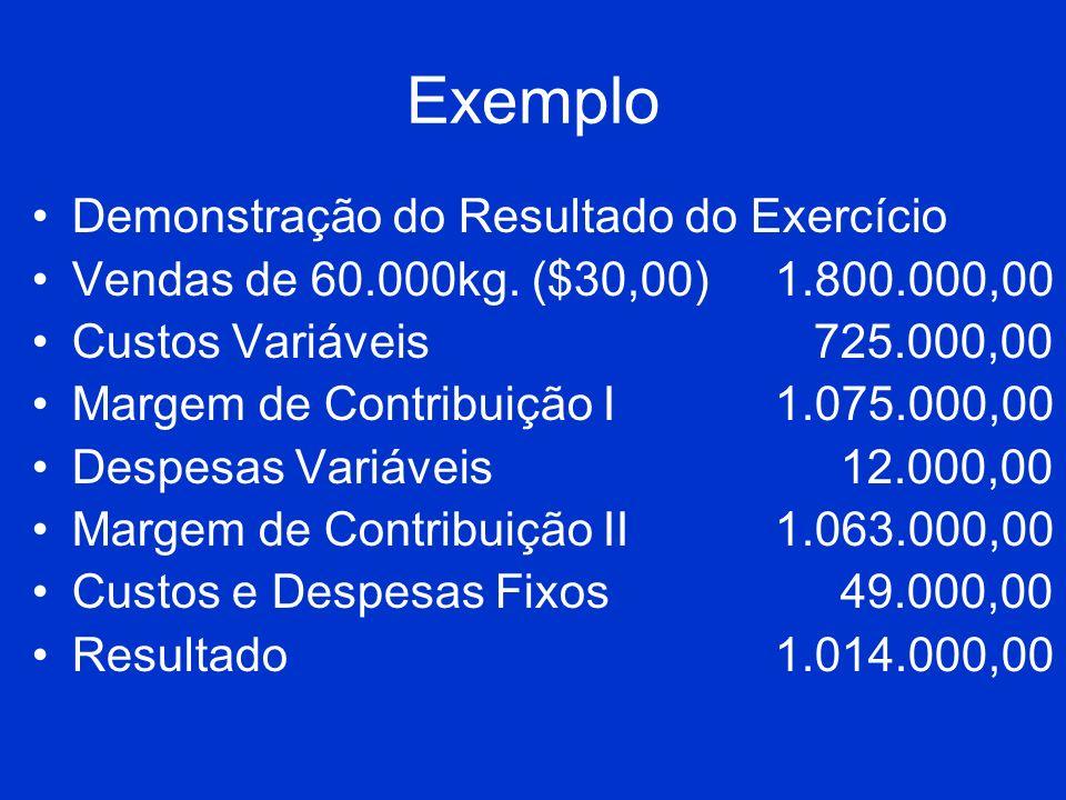 Exemplo Demonstração do Resultado do Exercício
