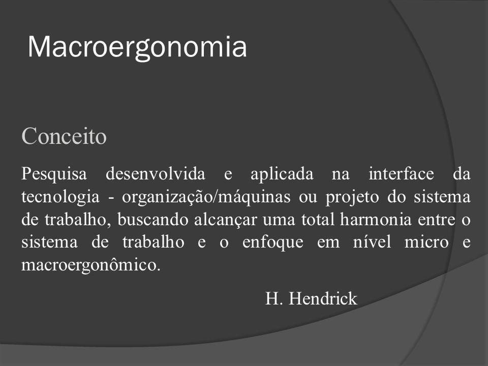 Macroergonomia Conceito