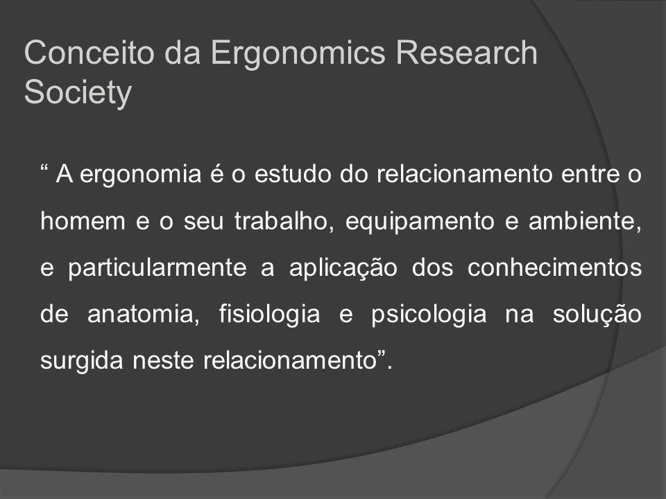 Conceito da Ergonomics Research Society