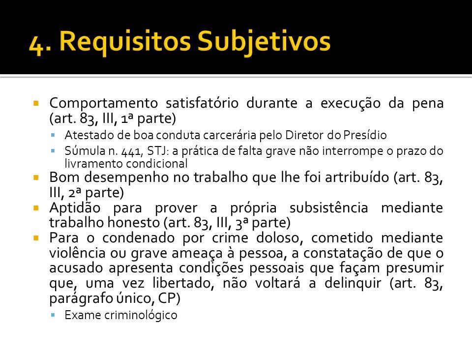 4. Requisitos Subjetivos