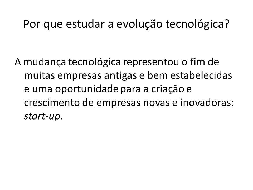 Por que estudar a evolução tecnológica