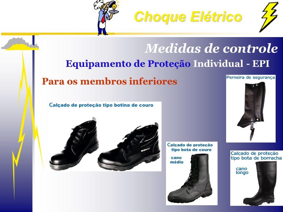 Medidas de controle Equipamento de Proteção Individual - EPI