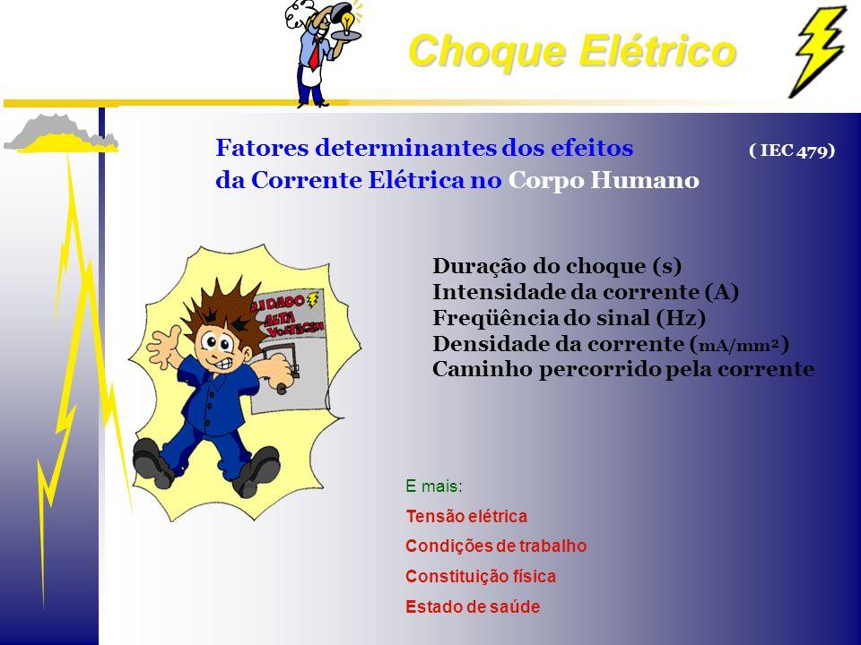 Fatores determinantes dos efeitos ( IEC 479)