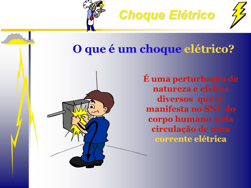 O que é um choque elétrico