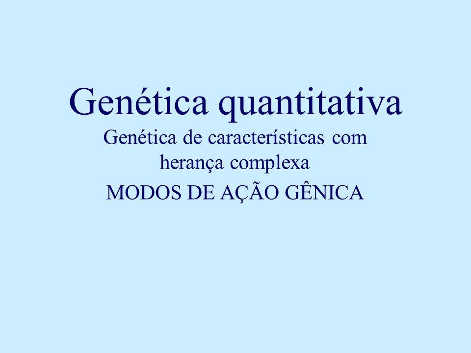 Genética quantitativa